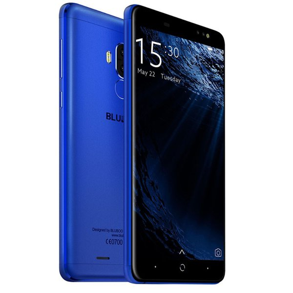 Bluboo D1 Smartphone MTK6580 Quad Core 5.0Inch 2GB RAM 16GB ROM Cellphone 3g Android Real Fingerptint Dual Camera Cellphone 2017 New Arrival
