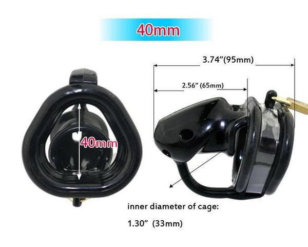 Black 40mm ring