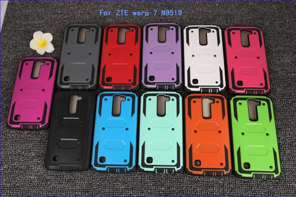 Para zte tempo n9131 boost warp 7 n9519 para o google pixel x híbrido armadura phone case tampa traseira protetor tampa à prova de choque com clip