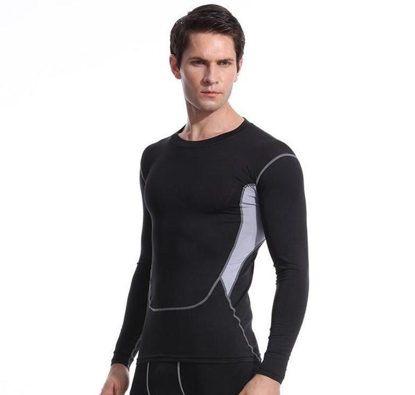 Men  039    port  ca ual tight  black  hort  leeve t  hirt bodywear yoga wear