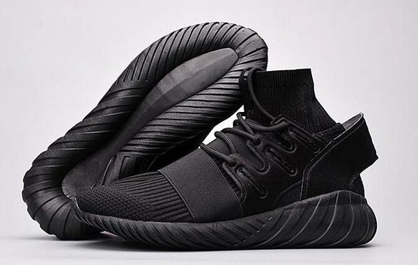 outlet store 3bded 58e5f High Quality Racers Sale Mesh Triple Black Tubular Doom PK Special Forces  Tubular Radial Running Shoes Sports Sneakers With Box Size US7 11 Sport ...