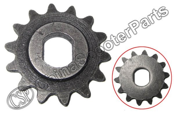 best selling Wholesale- 14 Tooth 14T 25H Oval 10MM Razor EVO X-Treme IZIP Gear Sprocket 500W 800W 1000W Electric Scooter