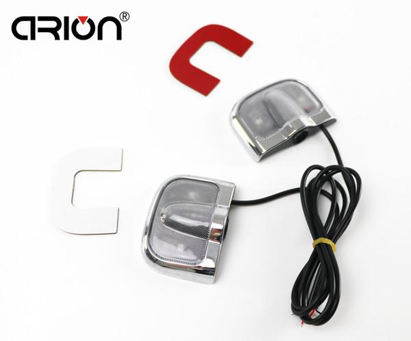 GPS car-styling New 6th Generation Ghost Shadow Car Door LED Light Laser Logo projector Decal courtesy Lamp Bem-vindo