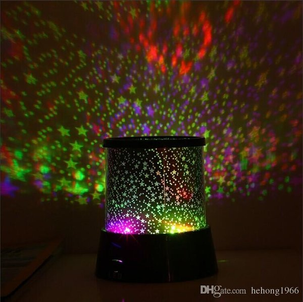 Colorful Dreamlike Night Light LED Sky Star Master Lights Projector Sleep Lamp For Children Kids Baby Desk Table Decor 3 7ms R