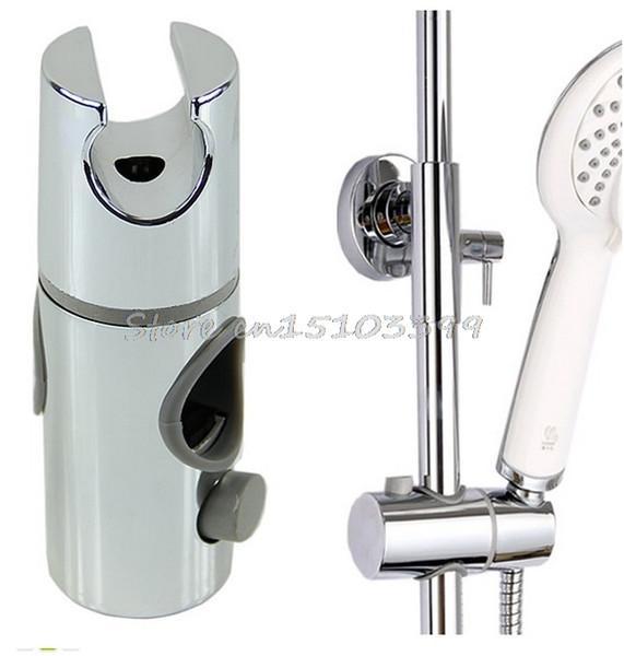 Wholesale- New Chrome Plated Head Hand Held Shower Bracket Holder For Bathroom Slide Bar #G205M# Best Quality