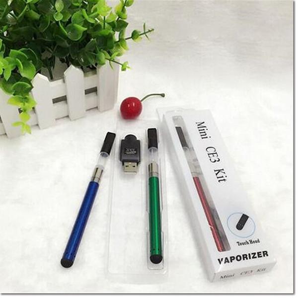 Cheap price bud touch tank 510 e cigarette kit o pen vape bud touch vaporizer pen with 280mah battery for CE3 vaperizer