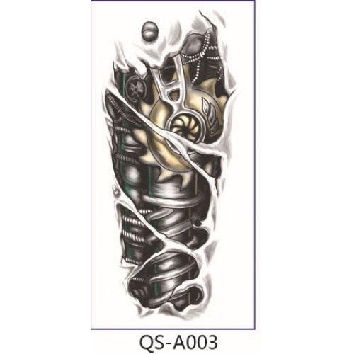 Gros-individualité design tatouage temporaire bras imperméable à la fleur 1687520