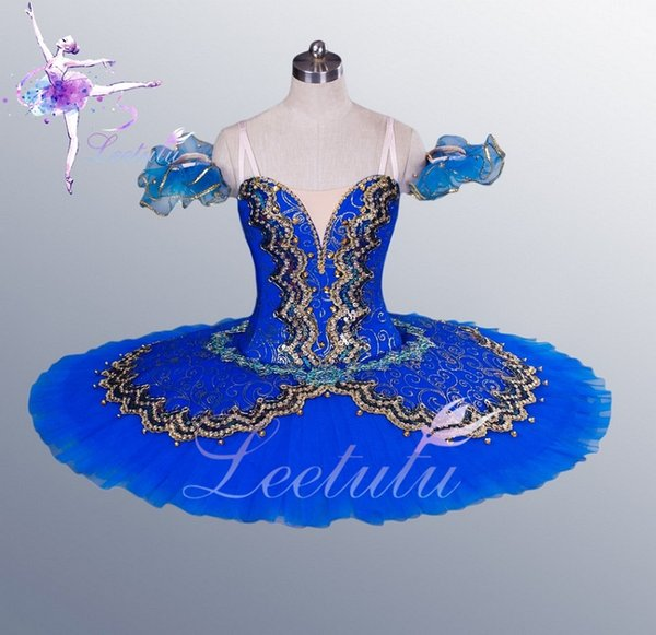 Blue Adult Ballerina Dresses, Professional Ballet Tutu for big theatre performace, Classical ballet tutu, free shipping