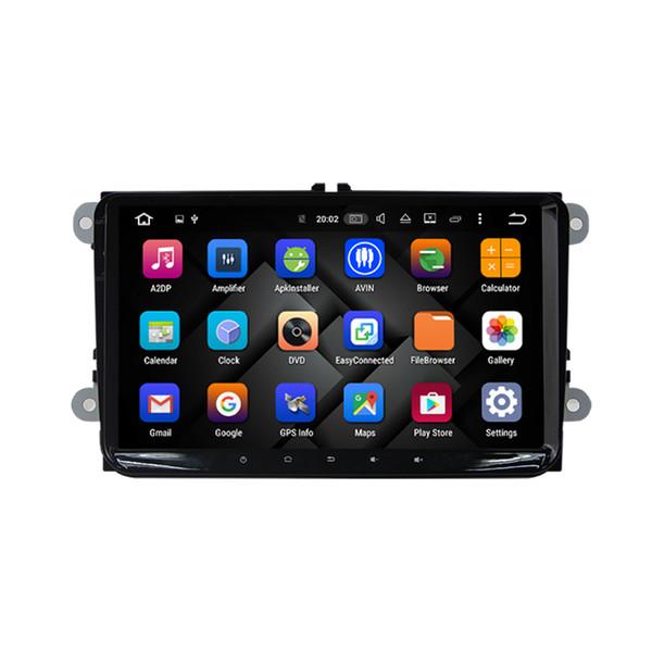 9 inches Pure Android 6.0.1 Car DVD Quad Core 16G ROM 1024*600 Screen Car Raio for VW Golf mk6 5 Polo Jetta Tiguan Passat B6 B5 CC Skoda