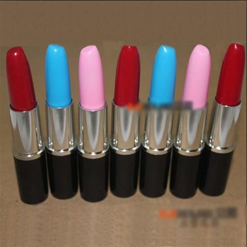 top popular Wholesale Korean version of creative stationery wholesale   cute drops of office supplies   ultra-realistic lipstick free shipping 2019