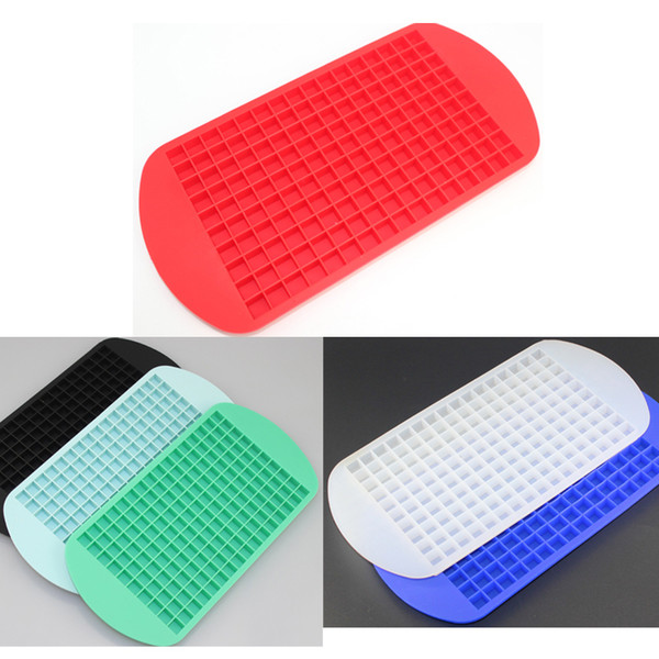top popular 160 Ice Tray Ice Cubes Frozen Mini Cube Silicone Mold Maker For Kitchen Bar Party Drinks Mould Tray Pudding Tool 2019
