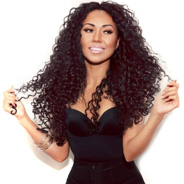 Burmese Human Hair Lace Front Wigs for Black Women Deep Curly Glueless Full Lace Wigs 8-28 inch FDSHINE