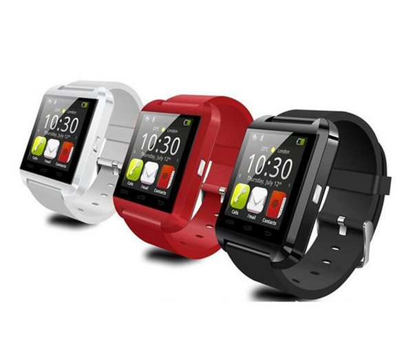 U8 Bluetooth Smart Watch Anti-lost for Android Samsung and IOS Apple iphone Smartphone Bracelet Usage Smartwatch