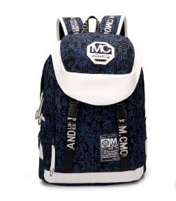 Mochilas de lona homens marca de moda viagem escola mochilas grande capacidade tote bolsa de ombro das mulheres saco de lona de Lona computador