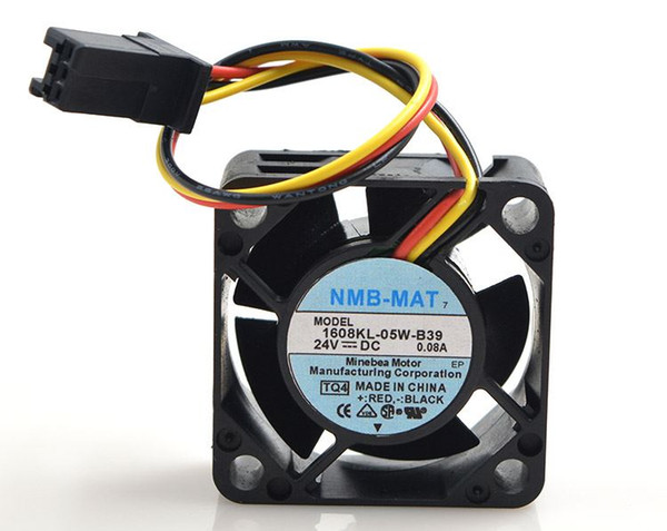 New original NMB 1608KL-05W-B39 24V 0.08A 4CM 4020 3Wire FANUC special Cooling fan cpu cooler heatsink axial Cooling Fan