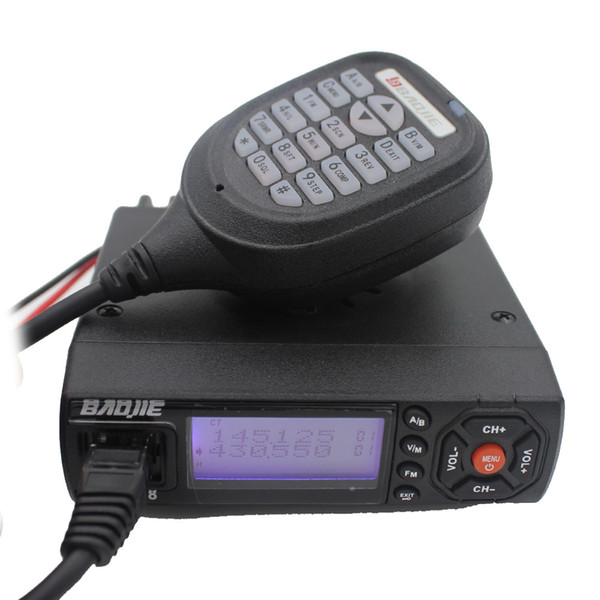best selling Baojie BJ218 Mini Mobile Radio Transceiver BJ-218 25W Dual Band VHF UHF136-174 400-470 MHz Ham Radio for Car Bus Taxi same as KT8900 KT-8900
