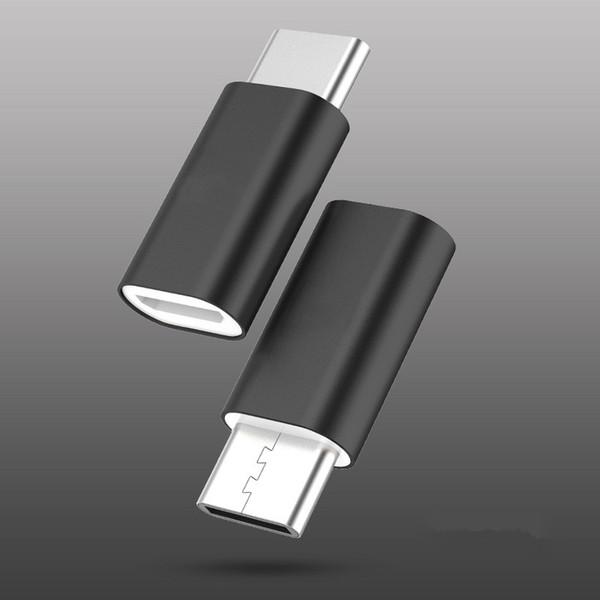 Stecker Adapter autokatalytische Beschichtung ABS Micro USB 3.1 Typ-C schnelle Datensynchronisation Übertragung Ladegerät Adapter Telefonkabel
