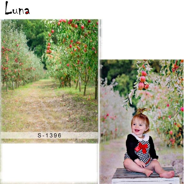 5x7ft Fruit Tree Vinyl Photography Background For Children Scenic Oxford Backdrop For photo studio Props S1396