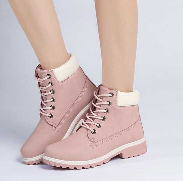 Hot Sale Women Casual Roman Boots Ladies Ankle Boots Women Mens Retro Waterproof Outdoor Work Sports Shoes Casual Sneakers Size 36-41