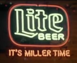 """Miller Lite Beer Neon Sign Custom Handcrafted Real Glass Tube It's Miller Time Bar Club Pub KTV Advertising Display Neon Signs 24""""X20"""""""