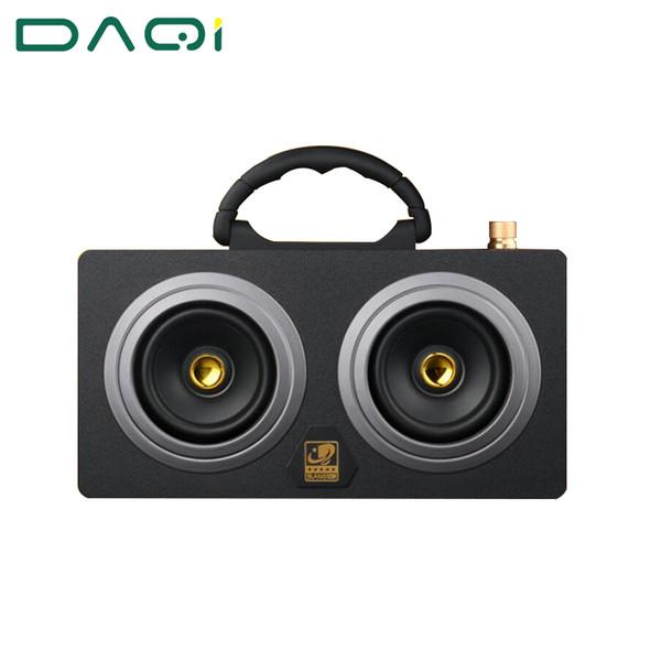 Großhandels-Hölzerner 20W im Freien Bluetooth-Sprecher-drahtloser Superbass-Subwoofer-Tanzen-Lautsprecher der hohen Leistung mit fm Radio-Tonauto