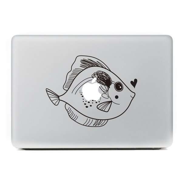 """FULCLOUD-2 New hot Originality Vinyl Decal Colour Local sticker for Apple MacBook air /pro / touch bar 11""""13""""15"""" Laptop Skins"""