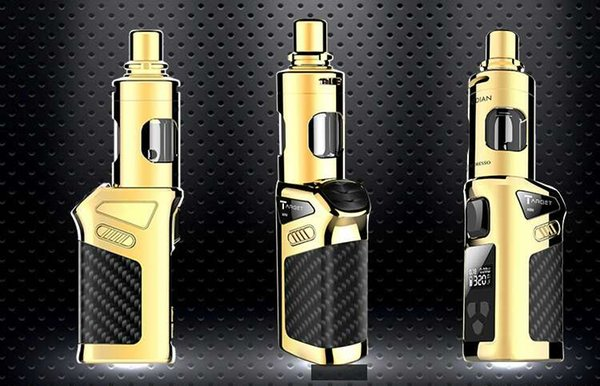 Original 40W Vaporesso Target Mini Kit Target Mini Mod Battery 1400mAh 40W and Guardian Tank 2ml w/CEL Coil Target Mini VA01