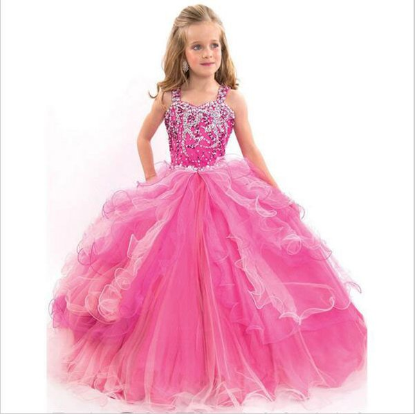 Pageant Gowns Kids Beauty Pageant Dresses For Little Girls Prom ...