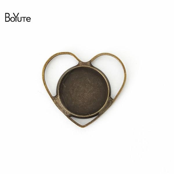 Colgante como hoja en Antik bronce colores 20 trozo de vintageparts DIY joyas