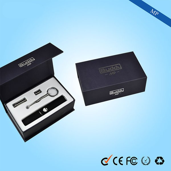 100% Original Dry Herb Wax Vaporizer Kits 350 mAh Battery Vape Pen with USB charger 3 in 1 vaporizer dry herb E cig kit