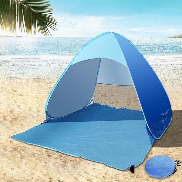 2 Person Beach Tent Automatic Pop Up With Uv -Proof Ultralight Folding Tent For Outdoor Beach Folding Tent Camping Tents