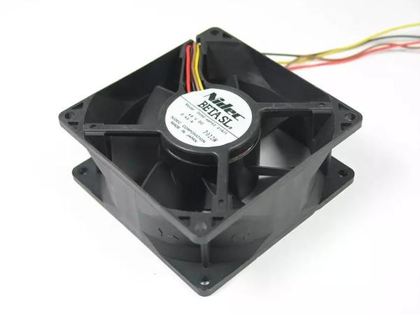 Spedizione gratuita per Nidec D09E-48PS2 01I1 DC 48V 0.40A 4-pin connettore a 4 poli 90mm 90x90x38mm Server Square Ventola di raffreddamento