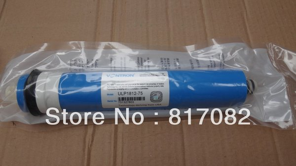 best selling New packaging Vontron 75 gpd Reverse Osmosis Membrane ULP1812-75 Water Purifier for Drinking