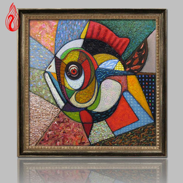 YGS-137 DIY 5D Full Diamonds Mosaic Diamonds Embroidery Abstract art fish Square Diamond Painting Cross Stitch Kits Home Decor