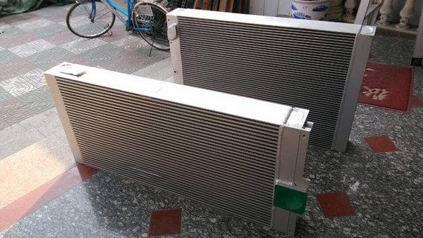 Shanghai Waner sales plate-fin cooper heat exchanger air cooler oil cooler combined radiator 1614958900=1092112301 for GA250