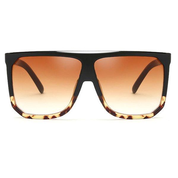 C3 Black Leopard Frame Gradient Brown