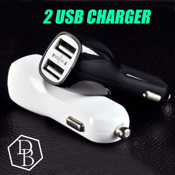 Duckbill Car Charger 2 PortS Cigarette 2.1A Chargeurs Micro Double USB Adaptateur Flash Mamelon Double USB Port pour Phone Pad
