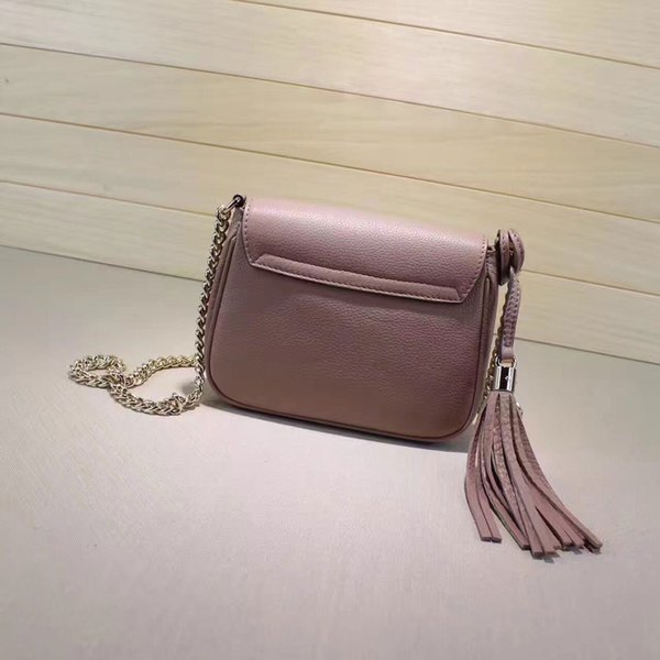 The new fashion handbags all-match retro zipper backpack mobile phone bag clip banquet dinner lady