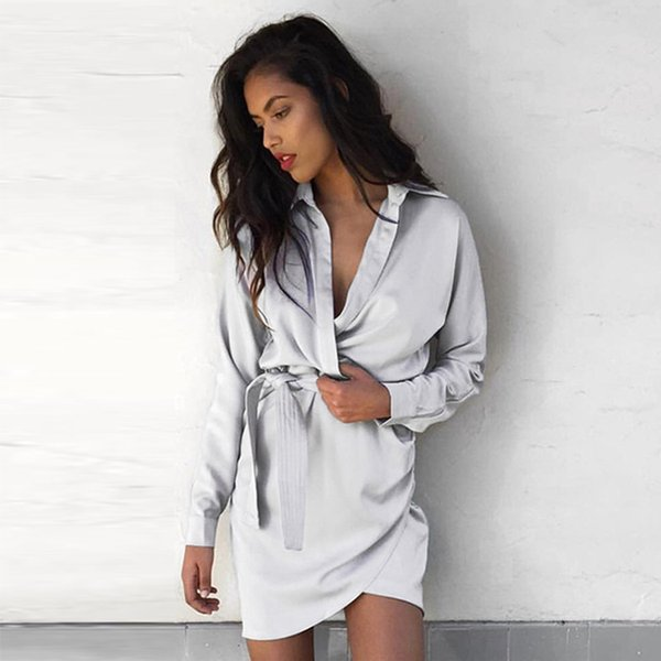 The new autumn dress lace long sleeved slim irregular shirt in the long skirt children chiffon