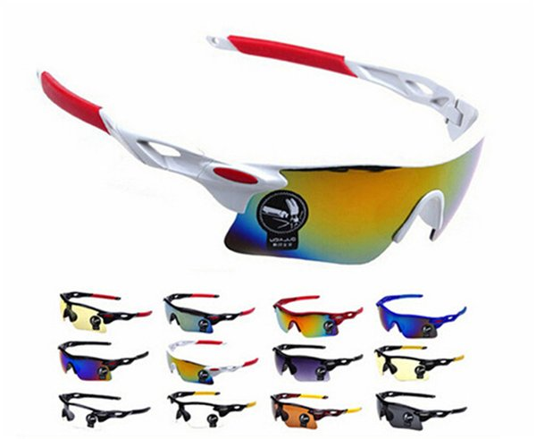 best selling Men Women Cycling Glasses Outdoor Sport Mountain Bike MTB Bicycle Glasses Motorcycle Sunglasses Eyewear Oculos Ciclismo High Quality