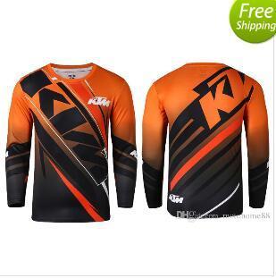 top popular New arrival KTM MOTO GP Motocross T-shirts Mountain Bike Cycling Jersey Motorcycle racing perspiration wicking T-shirts 2019