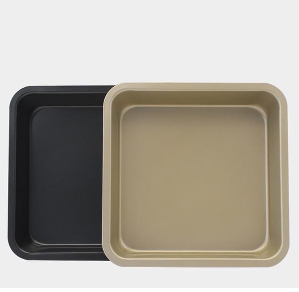 Выпечки печь инструмент 8 дюймов выпечки Пан плесень DIY формы для выпечки площадь антипригарным торт диск духовка блюдо горячее надувательство 5sk J R