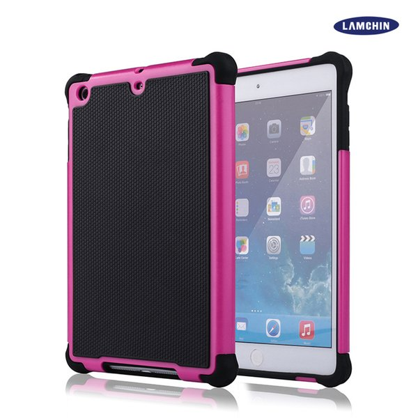 Hybrid Rugged Impact Football Skin 3 in 1 Cover Case Shockproof Heavy Duty Armor Hard Case for Apple iPad Mini 1 2 3