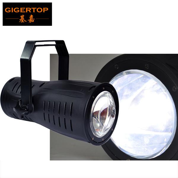 TIPTOP Stage Light 200W Warm White/Cold White COB Led Light DMX, Master/Slave, Stand Alone & Sound Active Surface Light Glass Lens 110V-220V