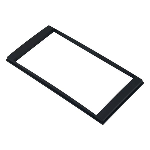 LEEWA 2Din Car Refitting DVD frame,panel,Dash Kit,Audio frame for Nissan LIVINA/Sunny(N17)Almera/Versa/Renault Scala/Latio #1555