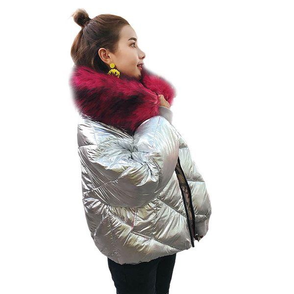 2017 new down jacket women short paragraph bright tide fashion Korean jacket student cotton