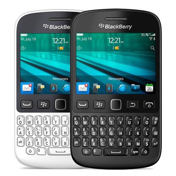 Refurbished Original Blackberry 9720 Unlocked Mobile Phone 2.8 inch Screen 512MB RAM 5MP Camera WIFI Touch Screen + QWERTY Free DHL 1pcs