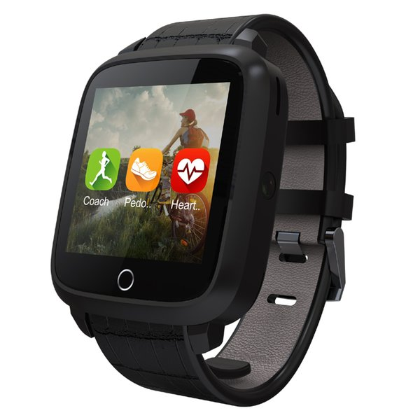 3G Android 5.1 Smart Watch Phone with Heart Rate Monitor Camera Pedometer GPS Smartwatch Wristwatch 1GB RAM 8GB ROM SIM Smartphone U11S