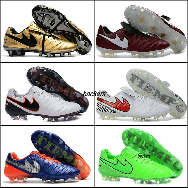 best authentic 8ec9f 35023 2019 2018 Cheap Soccer Cleats Tiempo Totti X Roma FG Mens Soccer Shoes  Boots Tiempo Legend VI FG 2016 Authentic Football Boots Golden Purple From  ...