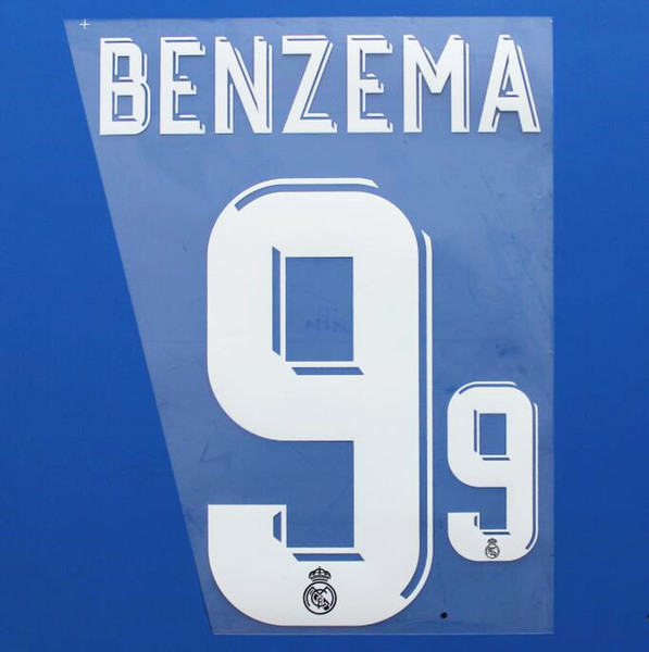 AWAY NAME 9 BENZEMA